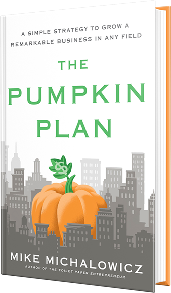The Pumpkin Plan book cover by Mike Michalowicz